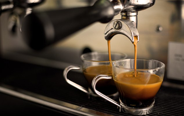 caffè vetro