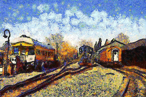 Van Gogh Train station