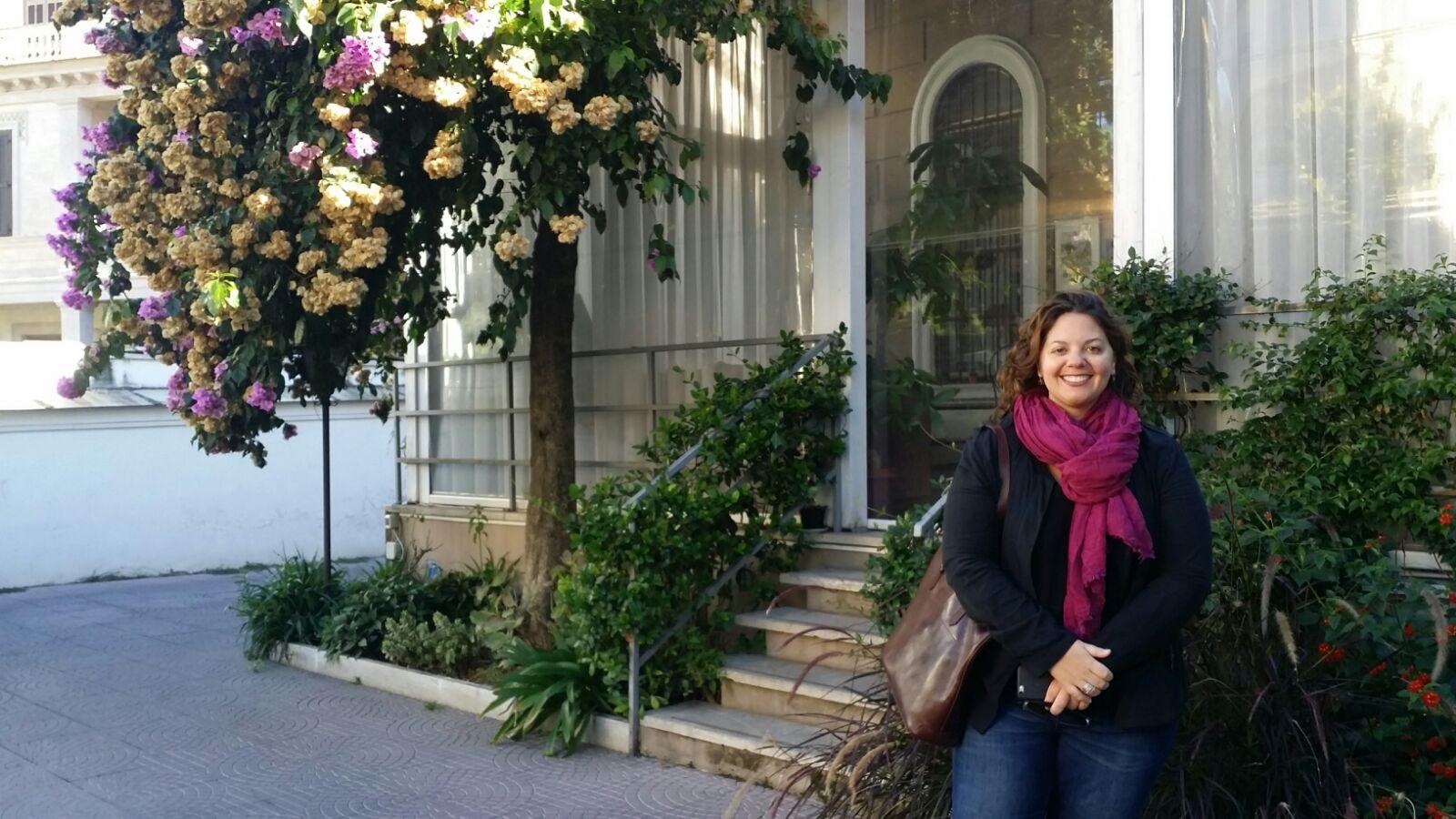 Joanna Colangelo a Villa Pirandello